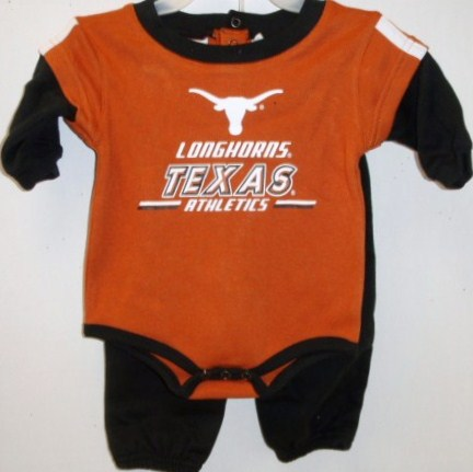 LONGHORNS: ONESIE SET