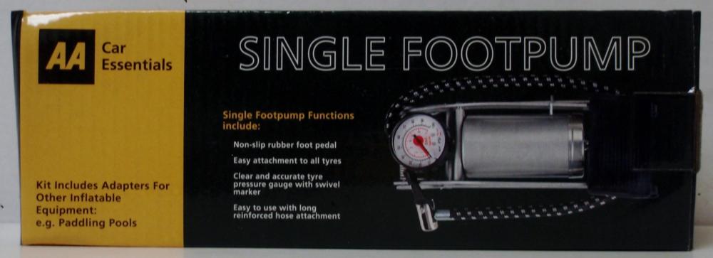 Single Foot Pump