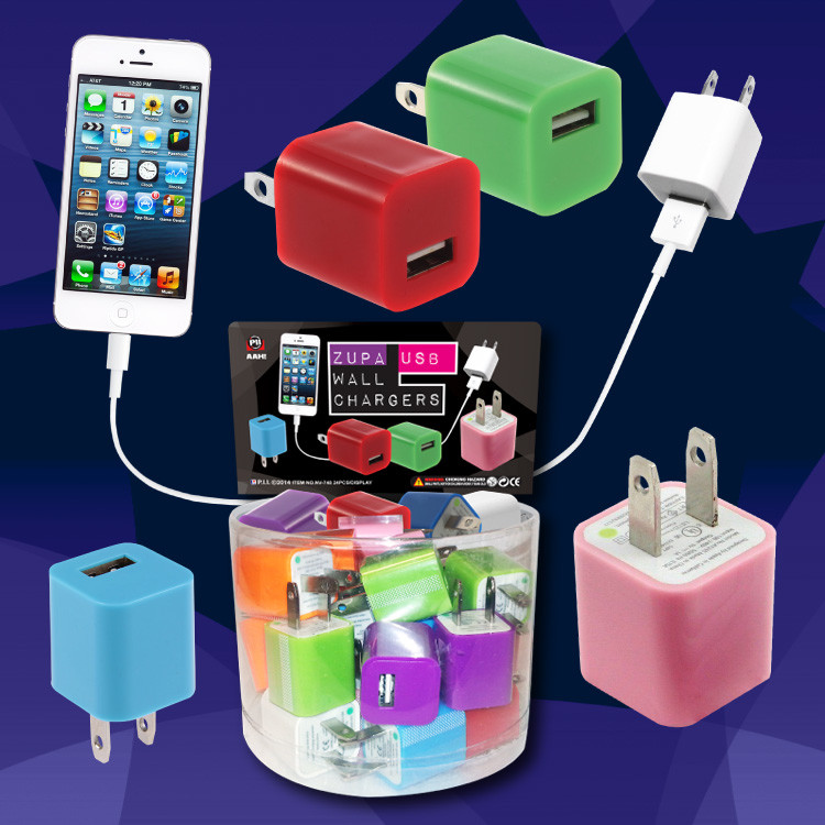 Wall Chargers - 24 per display