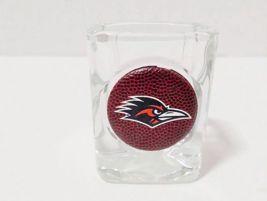 UTSA ROADRUNNERS SHOT GLASS 2 OZ