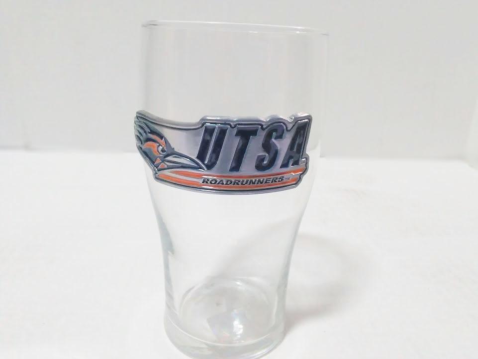 UTSA ROADRUNNERS PUB GLASS 20 OZ