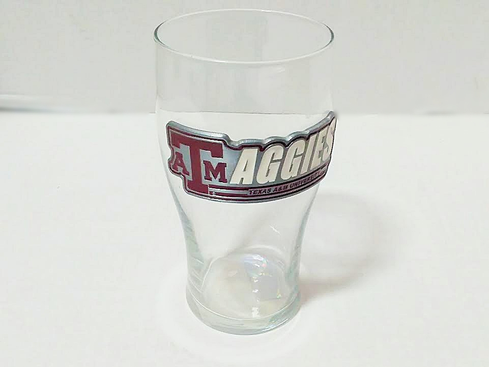 TEXAS A&M PUB GLASS 20 OZ