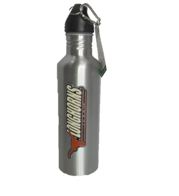 LONGHORNS: ECO ALUMINUM SPORTS BOTTLE 1 L