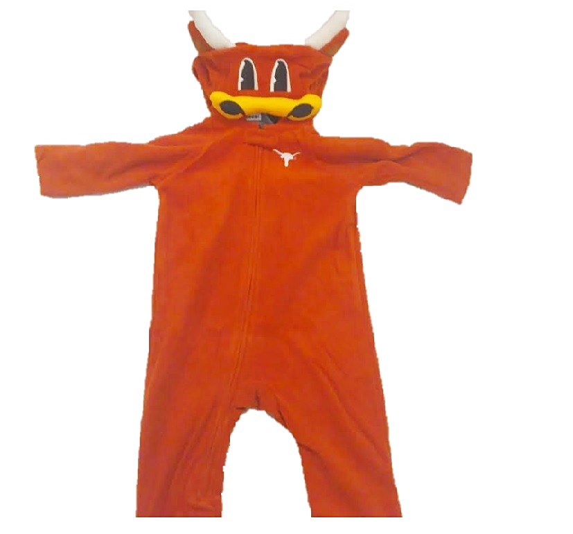 LONGHORNS: JUMPER WITH ZIPPER AND HOODIE- INFANT