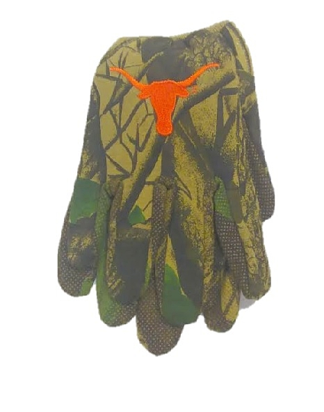 LONGHORNS: CAMO HEAVY GLOVES LIMITED QUANTITIES AVAILABLE