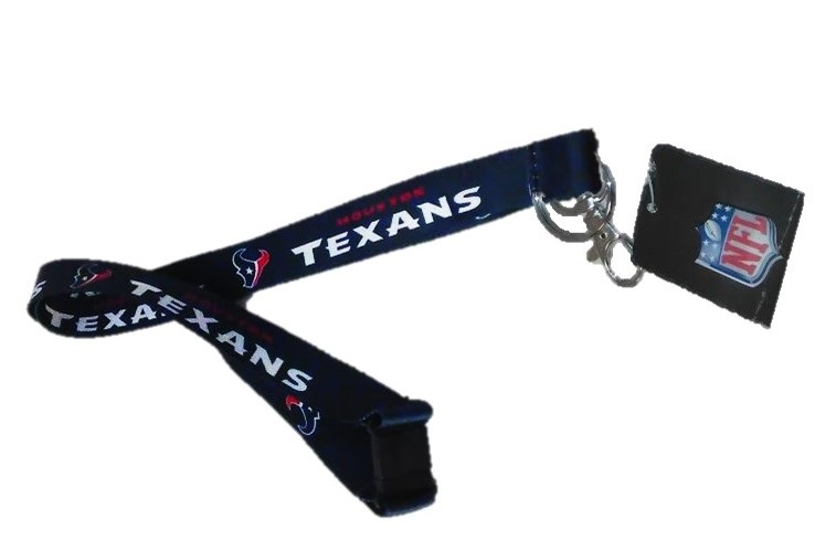 TEXANS: LANYARDS LIMITED QUANTITIES