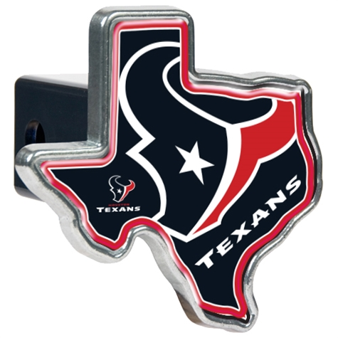 TEXANS: TRAILER HITCH COVER LIMITED QUANTATIES AVAILABLE