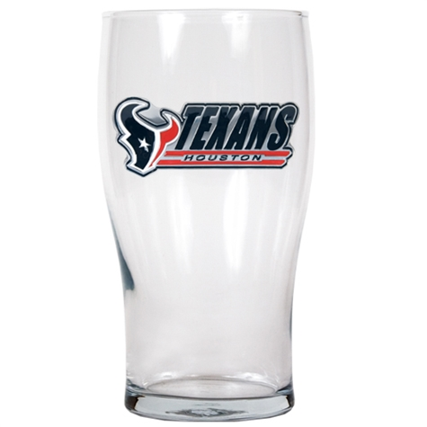 TEXANS: PUB GLASS 20 OZ LIMITIED QUANTATIES AVAILABLE
