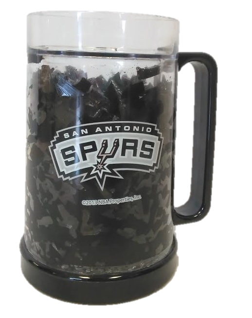 SPURS: FREEZER MUG- 16 OZ- LIMITED QUANTITIES AVAILABLE