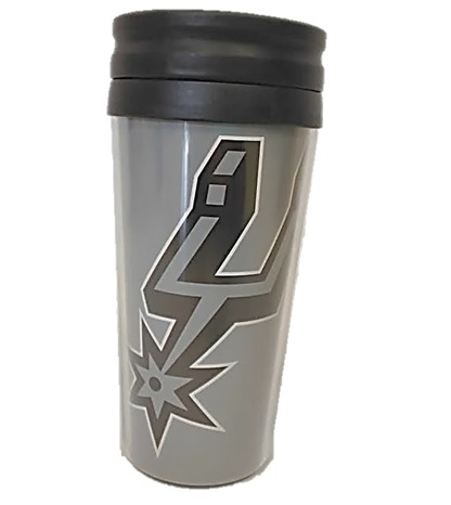 SPURS: TUMBLER- THERMAL/GREY- 16 OZ- LIMITED QUANTITIES AVAILABLE