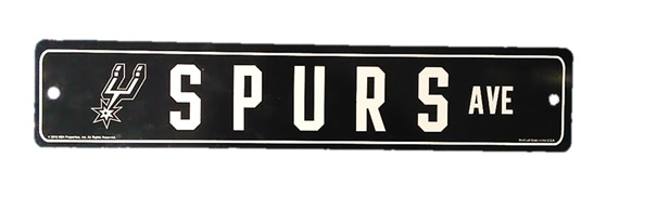 sPURS: PLASTIC STREET SIGN LIMITED QUANTITIES AVAILABLE