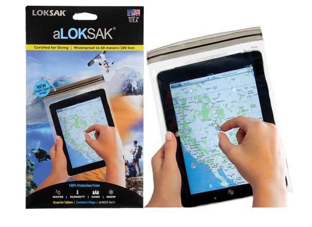 LOKSAK: GREAT FOR TABLETS, CONTAINS 2 BAGS, SIZE 8 x 11