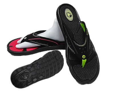 FLIP FLOP : MENS : BODY GLOVE : STYLE : KONA (NEW) : COLORS: BLACK/TOMATO & BLACK/NEON GREEN : SIZES : 8-13 : CASE : 12 PER MUSICAL RUN