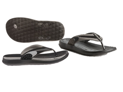 FLIP FLOP : mENS : bODY GLOVE : STYLE : CRUISE II  : COLOR: GREY/BLACK : sIZES : 8-13 : CASE : 12 PER MUSICAL RUN