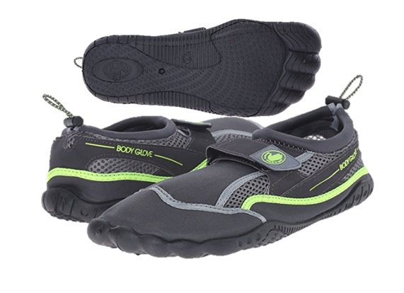 AQUA : MENS BODY GLOVE : STYLE : SEEK : COLOR : TOTAL ECLIPSE/NEON GREEN : SIZES : 7-13