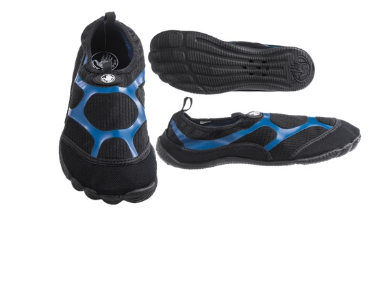 AQUA : MENS BODY GLOVE : STYLE :  DELIRIUM : COLOR BLK/BLUE : SIZES 7-13