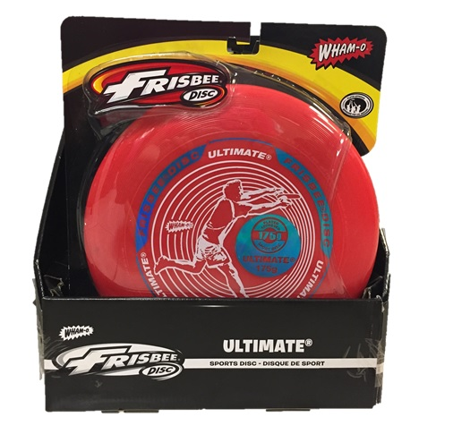 Wahmo-o Frisbee ultimate: 6 per display