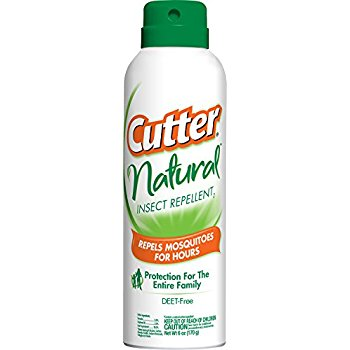 cutter natural insect repellent spray, 12 per 6oz