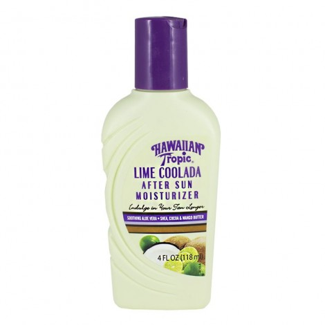 HAWAIIAN TROPIC: LIME COOLADA, AFTER SUN MOISTURIZER, 4 OZ.