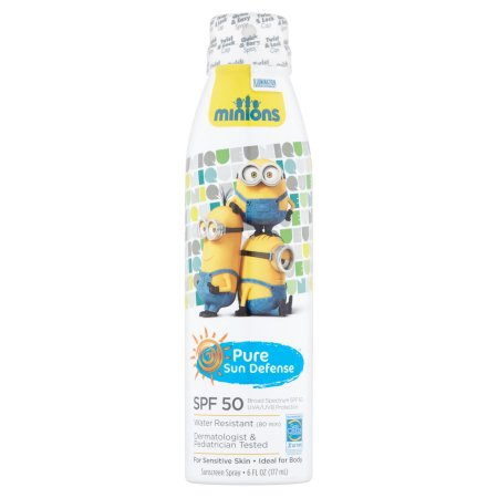 PURE SUN DEFENSE SPF 50 6 OZ MINIONS