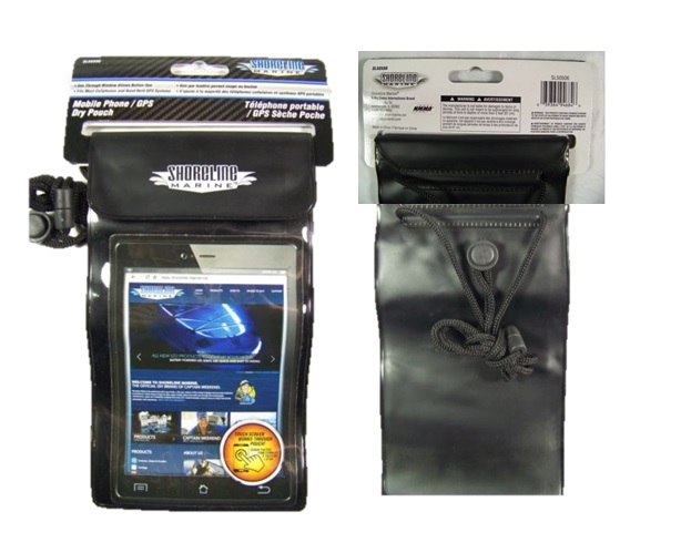 SHORELINE MARINE: MOBILE PHONE DRY POUCH