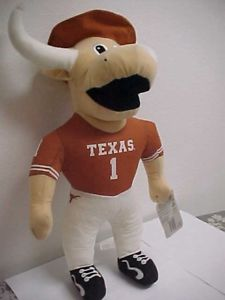 texas longhorn masoct stuffed animal (bevo) qty 105