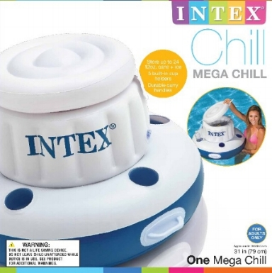 "Intex : mega chill : 35"" : Item # 56822EP (6/case)"