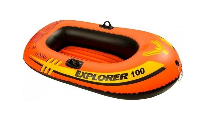"Intex : 1 man Boat : 58""x33"" : Item # 58329EP (3/case)"
