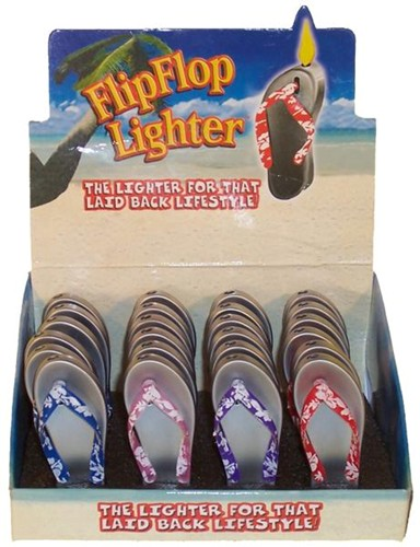 FLIP FLOP LIGHTERS: 24 PER CASE