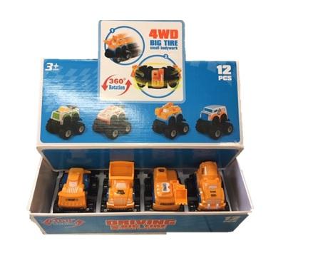 4WD Big Tire Truck 12per Display