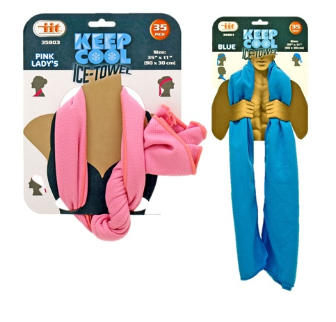 "keep cool ice-towel,35"" x 11"" (90 x 30 cm)"