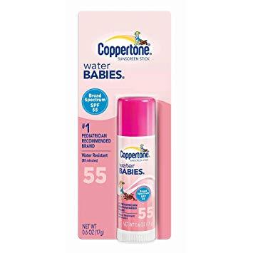 Coppertone spf 55 Baby stick