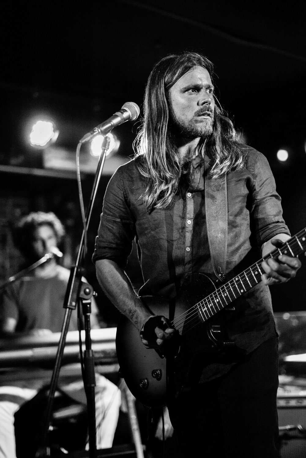 Lukas Nelson, Mercury Lounge NYC June 2017.