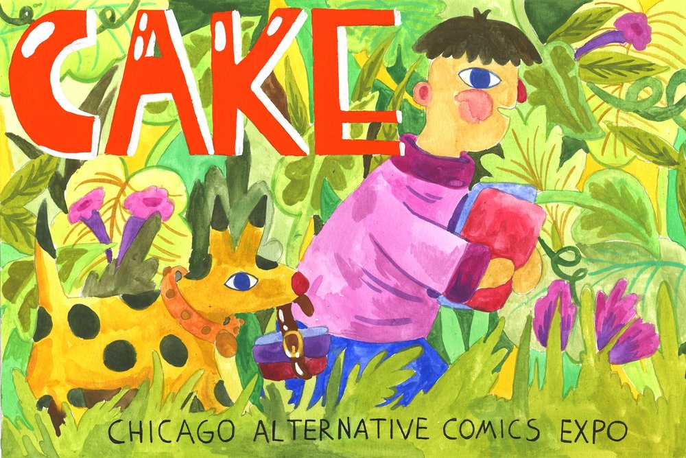 The Chicago Alternative Comics Expo [CAKE] is a weekend-long celebration of independent comics, inspired by Chicago's rich legacy as home to many of underground and alternative comics' most talented artists– past, present and future.   http://www.cakechicago.com/
