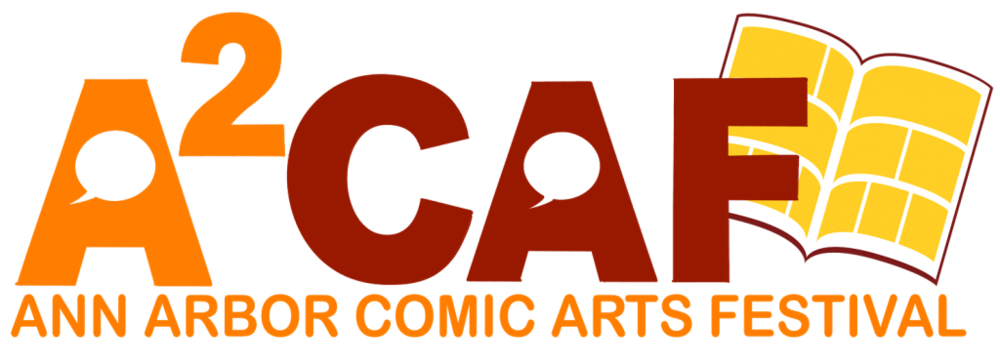 Beginning in 2016, Kids Read Comics' annual two-day comics celebration, hosted by the wonderful Ann Arbor District Library, will have a new name: Ann Arbor Comic Arts Festival (A2CAF for short). The Festival will still feature dozens of comics artists along with workshops, demonstrations and interactive drawing games. It will still be as kid- and family-friendly as ever. And attending the event will be free as always. What we hope the new name makes clear is that young children aren't the only ones who can enjoy a fun-packed Ann Arbor weekend filled with comics and creativity. We welcome teens and adults (always have) and offer a slate of guests and activities to meet a wide range of comics-related interests (ditto). http://a2caf.com/