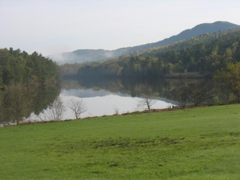 The property includes a half mile of frontage on the Connecticut River.