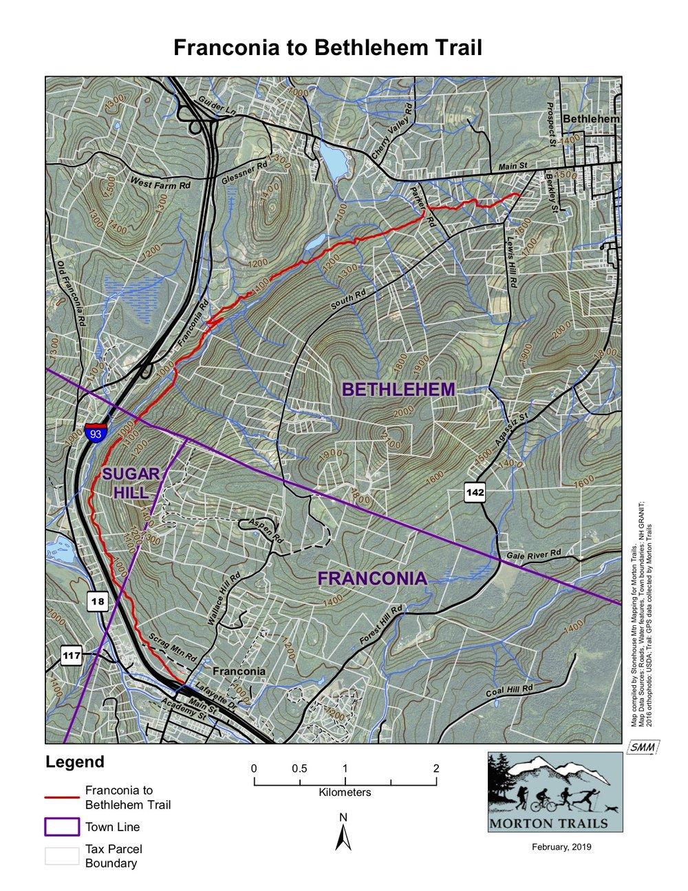 Franconia to Bethlehem Trail