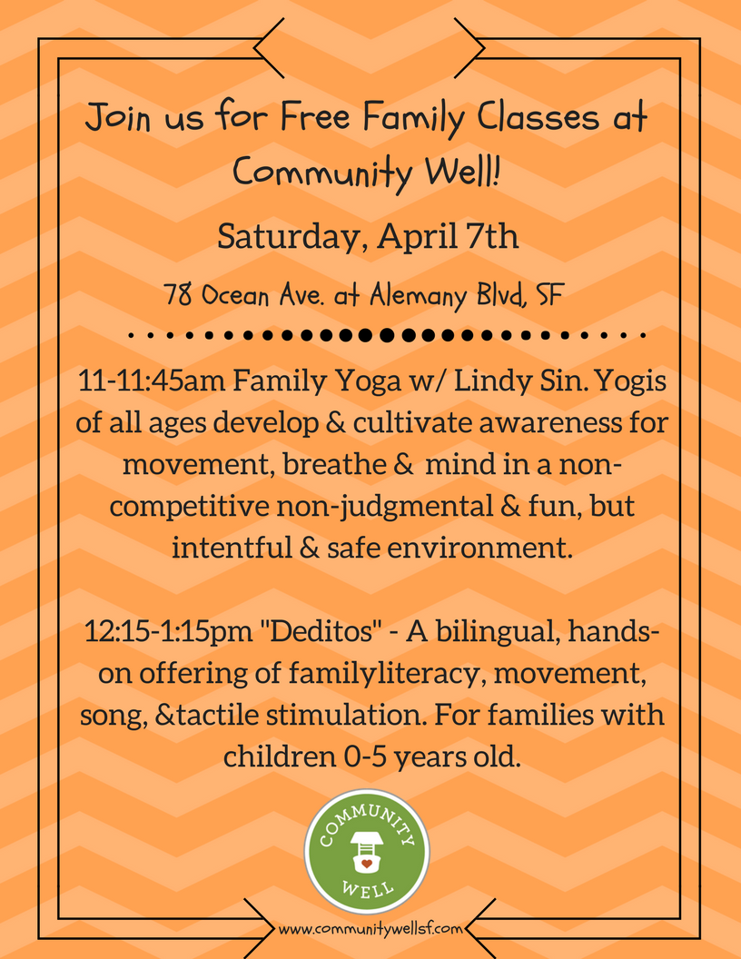 Free Family Classes at Community Well.png