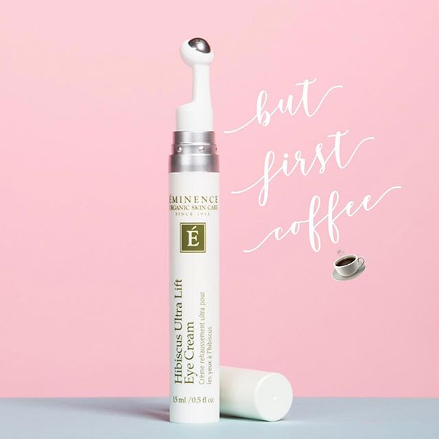 Eminence Organics Hibiscus Ultra Lift Eye Cream rapidly tightens and de-puffs tired eyes. This A-List anti-aging eye cream delivers visible results in as little as 2 minutes, relieving puffiness around the eye area and reducing signs of aging. 🙌🏼 🌸Hibiscus improves skin's elasticity and moisturizes the skin 🌸Caffeine reduces puffiness & minimizes dark circles under eyes 🌸Botanical peptides diminish wrinkles & fine lines 🌸Ice Wine Active tightens the skin & delivers a lifted appearance 🛍 @ www.parlordewitte.com/parlor-apothecary/