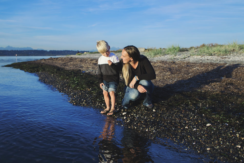A seaside documentary family session - filled with seaweed, wet feet and two little boys who are excited about exploring as I am.      #family #lifestylefamily #familyof4 #casual #seaside #ocean #oceanfamilysession #seasidefamilysession #noposing #littleboy #sand #rocks #water #wet #richcolours #britishcolumbia #lowermainland #yvr #yvrphotography