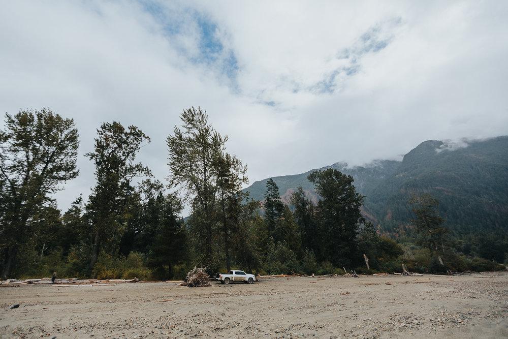 Mountains and Tacoma Truck. Four wheel drive adventure family session. Harrison Lake, British Columbia  #truck #fourwheeldrive #adventure #family #reallife #documentary #storytelling #getoutside