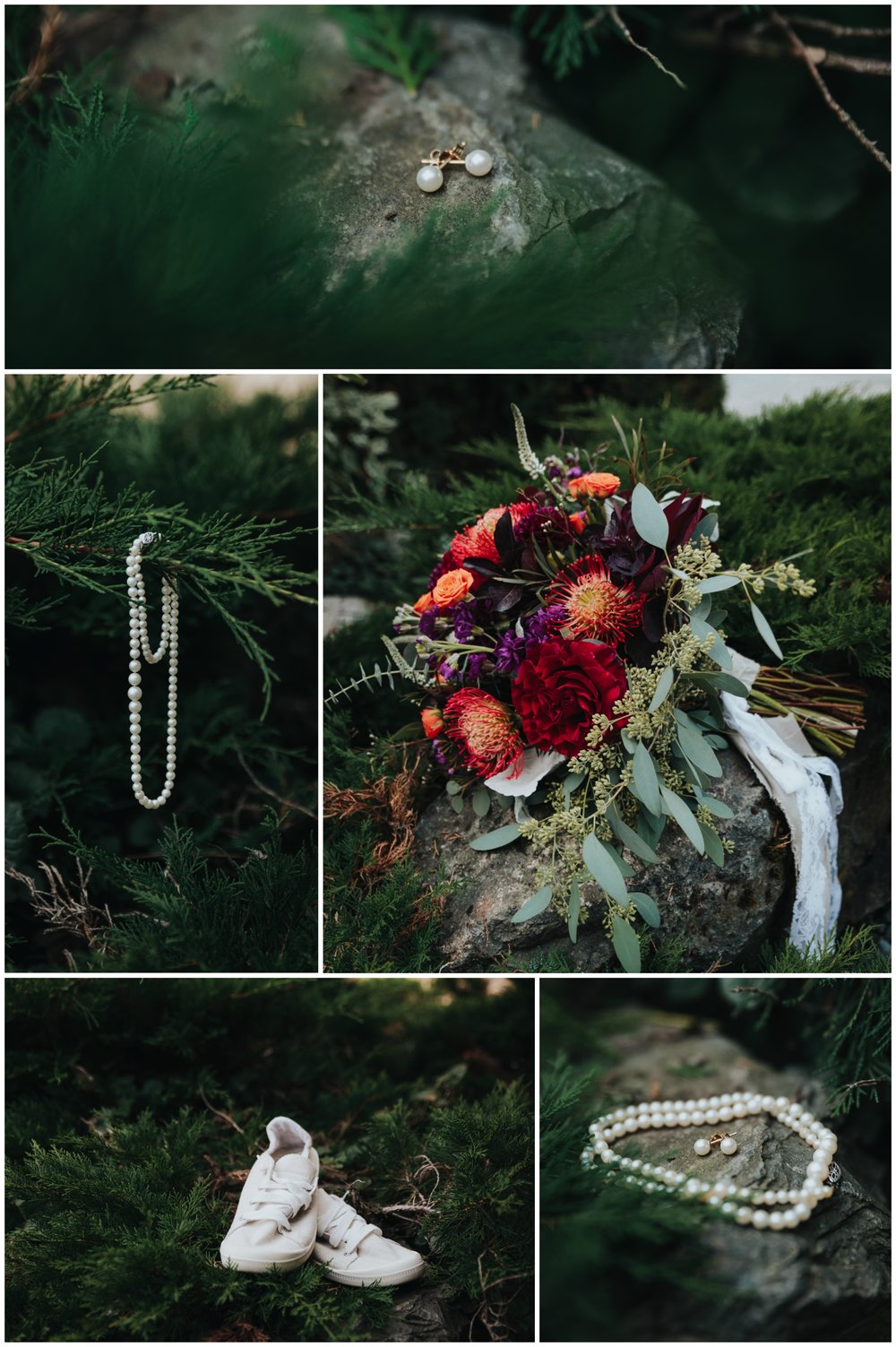 Fraser River Lodge Fall Wedding, Rustic, Red, Purple, Pine, Green.jpg