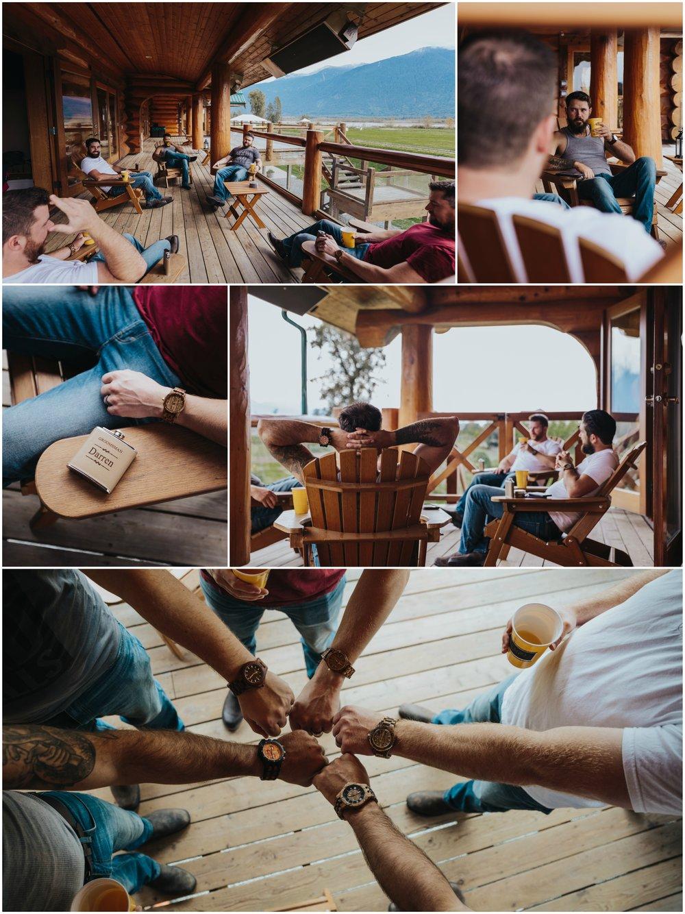 Fraser River Lodge, Rustic Pine Wedding, Red, Purple, Plaid 3.jpg