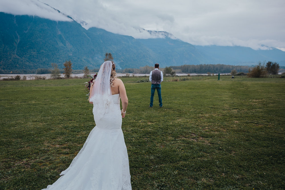 Fall Fraser River Lodge Rustic Wedding - Purple, Plaid, Wood, Red (57 of 225).JPG