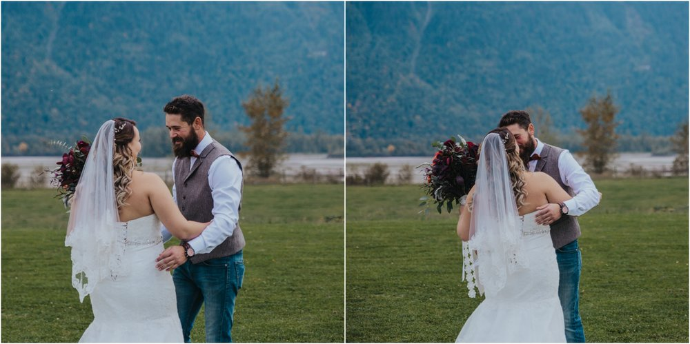 Fraser River Lodge, Rustic Pine Wedding, Red, Purple, Plaid 5.jpg