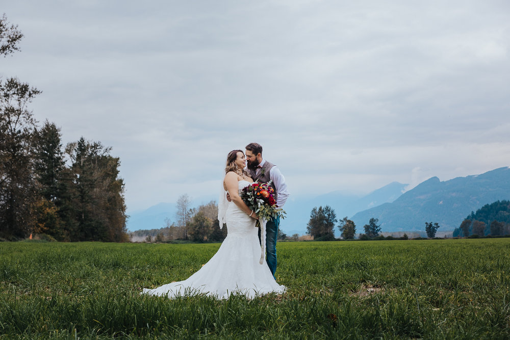 Fall Fraser River Lodge Rustic Wedding - Purple, Plaid, Wood, Red (73 of 225).JPG