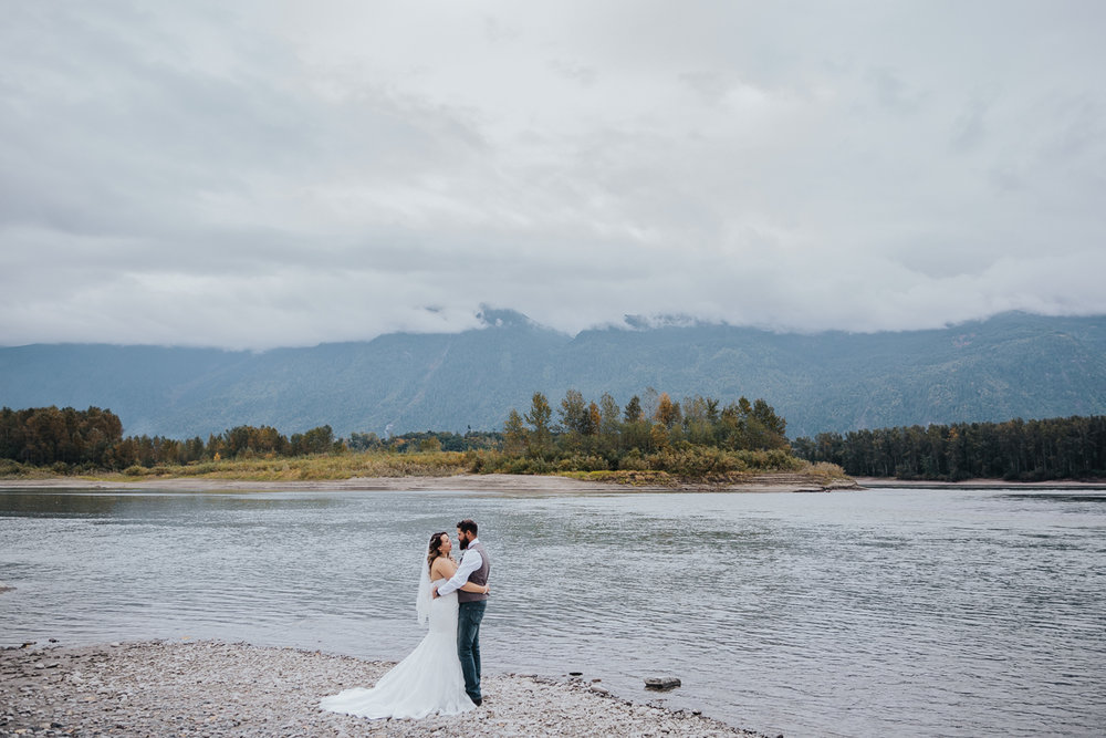 Fall Fraser River Lodge Rustic Wedding - Purple, Plaid, Wood, Red (97 of 225).JPG