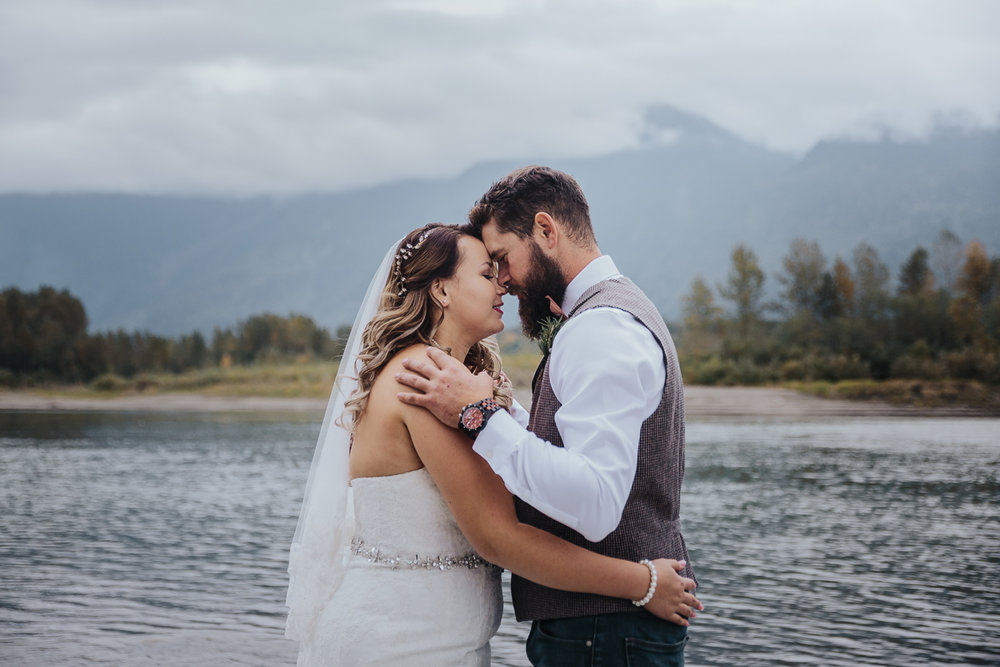 Fall Fraser River Lodge Rustic Wedding - Purple, Plaid, Wood, Red (93 of 225).JPG