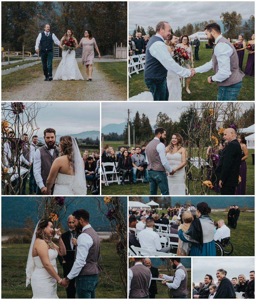 Fraser River Lodge, Rustic Pine Wedding, Red, Purple, Plaid 8.jpg