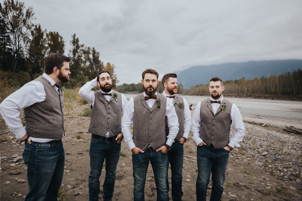 Fall Fraser River Lodge Rustic Wedding - Purple, Plaid, Wood, Red (152 of 225).JPG